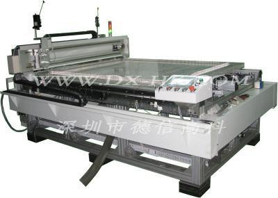 Axis winding machine whiteboard